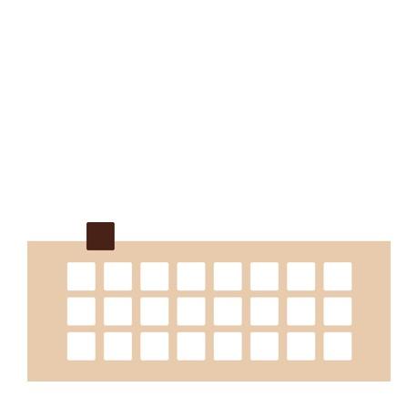 Chablon carré 3 x 3 cm