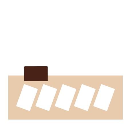 Chablon rectangle 8 x 5 cm