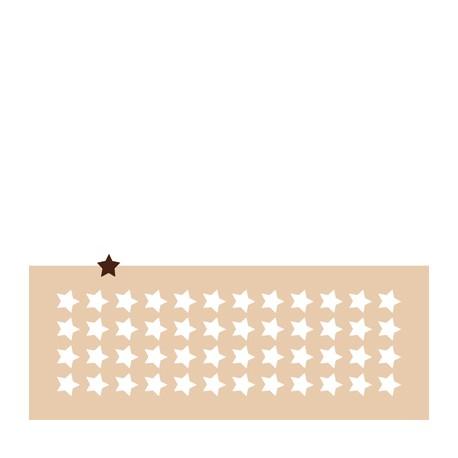 Chablon petite étoile 2 cm