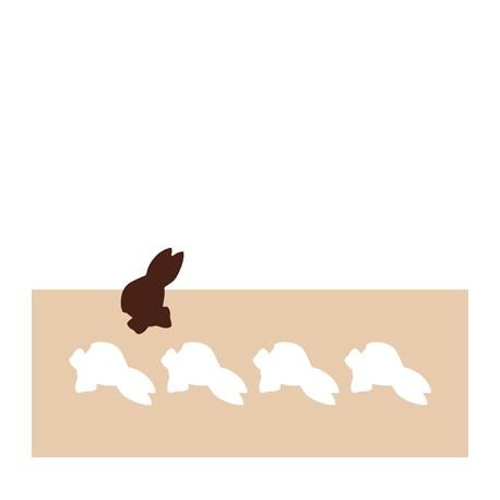 Chablon tête de lapin