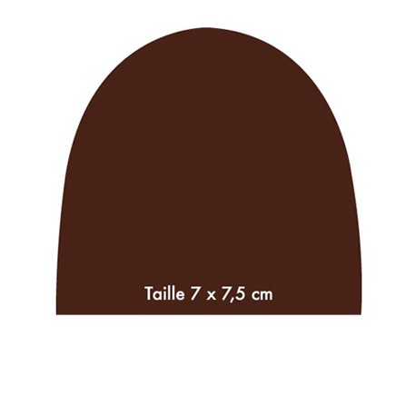 chablon Embout 7.5 x 7 cm N°1