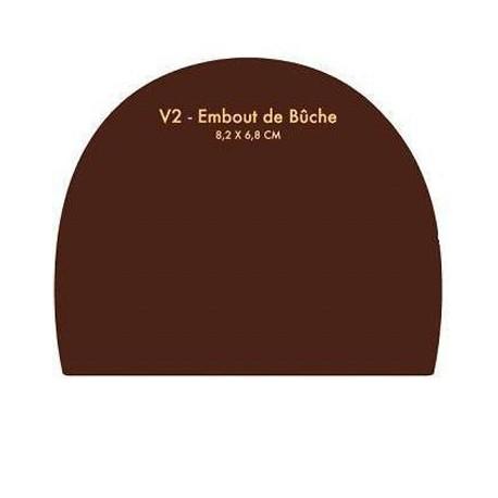Chablon Embout 8.2 X 6.8 cm
