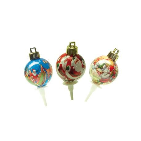 Boules de Noël à l'ancienne
