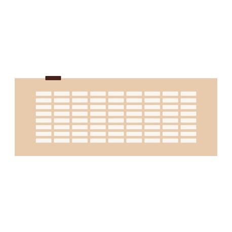 Chablon rectangle 3 x 0,8 cm