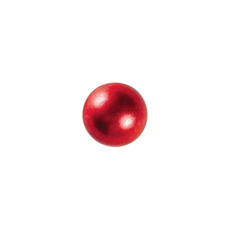 Perle nacrée rouge