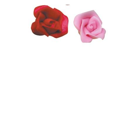 Roses assorties pâte amande