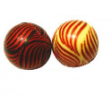 boule assorties vagues rubis