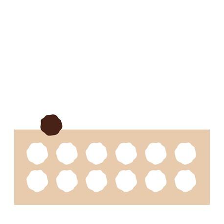 Chablon médaillon 4.5 cm